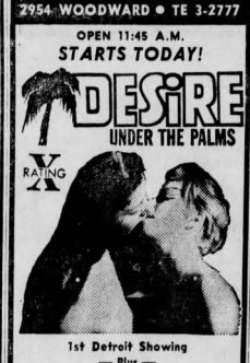 Desire Under the Palms 1968 tek part izle